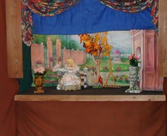 Divadielko Na hojdačke-Fedor z krajiny Mala
