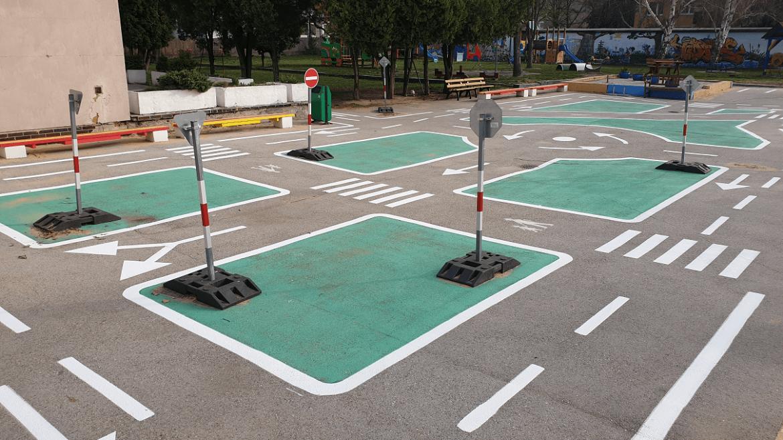 Nový náter dopravného ihriska